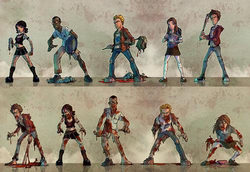 Personajes jugadores de Student Bodies