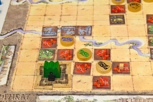 Partida de Tigris y Eufrates