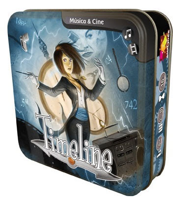 Caja de Timeline Cine y música