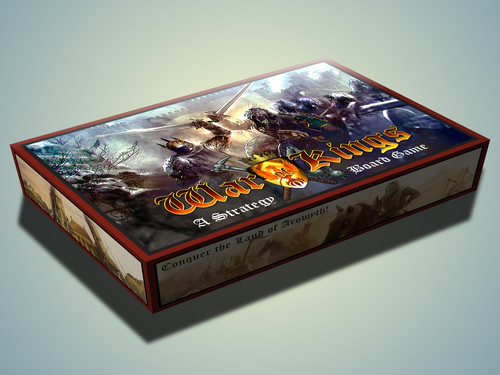 Caja del prototipo de War of Kings