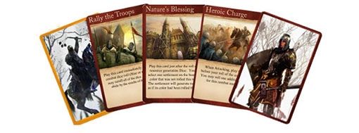 Cartas de War of Kings
