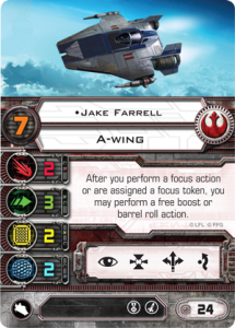 X-Wing, Ases Rebeldes Jake Farrell
