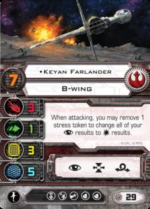 X-Wing, Ases Rebeldes Keyan Farlander