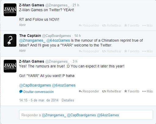 Twitter de Z-Man Games