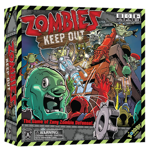 Caja de Zombie Keep Out