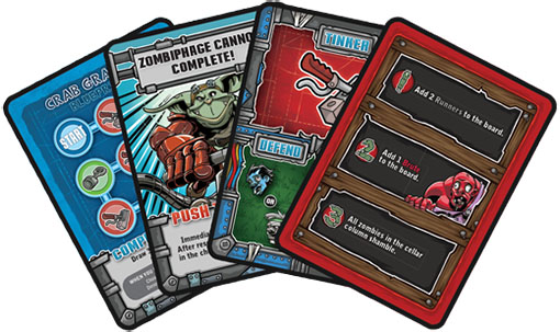Cartas de Zombie Keep Out