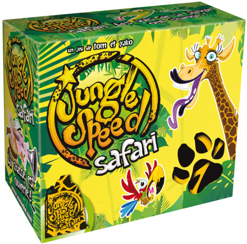 Caja de Jungle Speed safari