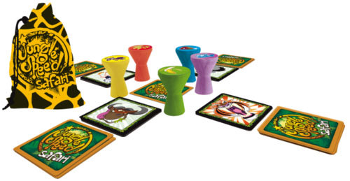 Componentes de Jungle Speed safari
