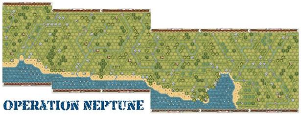 La seis playas del nuevo suplemento de Memoir 44 para jugar la operacion neptuno