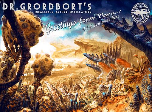 Arte del universo del Doctor Grordbort