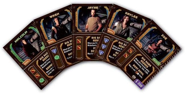 Firefly, Cartas promocionales de la tripulación de la Serenity