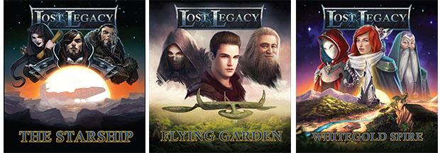 Portadas de Lost Legacy