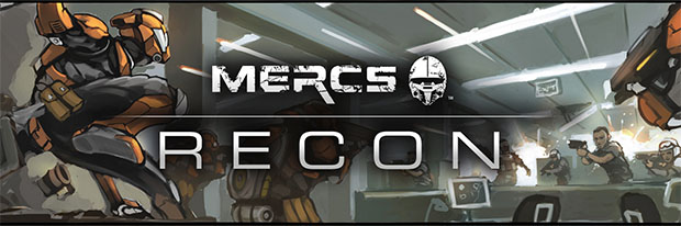 Concept art de MERCS Recond