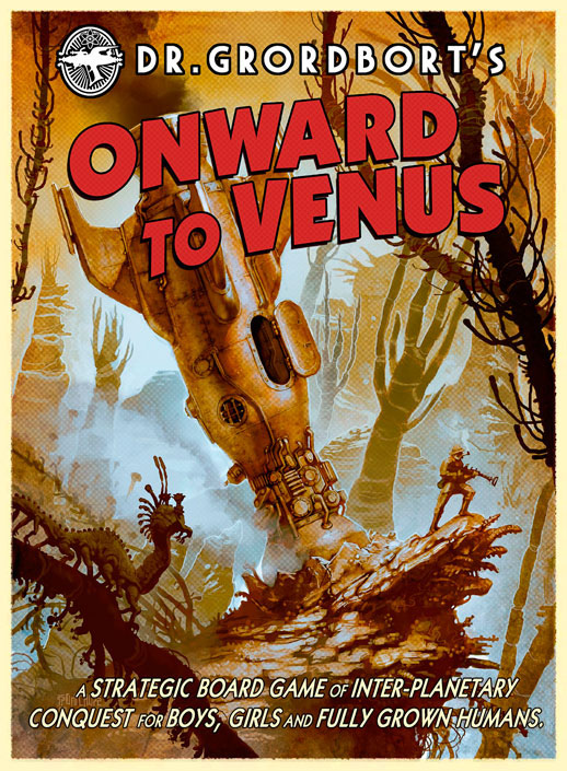 Portada de Onward to venus
