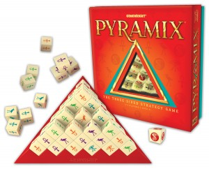Pyramix, caja