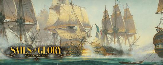 Juego Sail of Glory de Devir