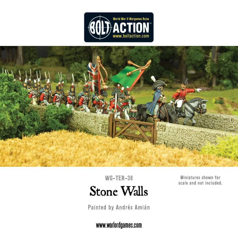 Muros de piedra en uso de Bolt Action