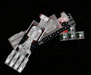 X-Wing, ejemplo colisión