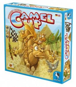 Caa del juego de mesa Camel Up
