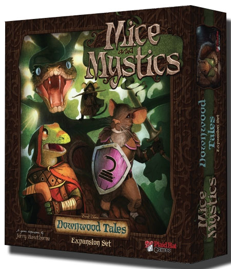 Caja de Downwood tales, expansión para Mice and Mystic