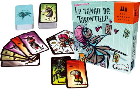 componentes de el tango de la tarántula