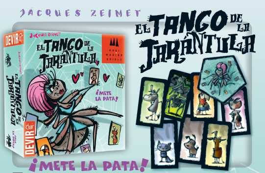 el tango de la tarántula de DEVIR