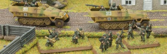 Flames of War, escena Panzergrenadier