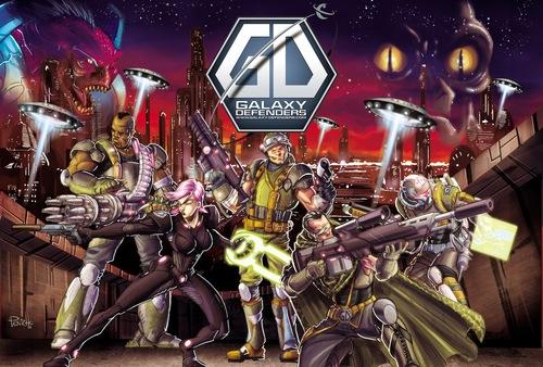 Portada de Galaxy Defenders