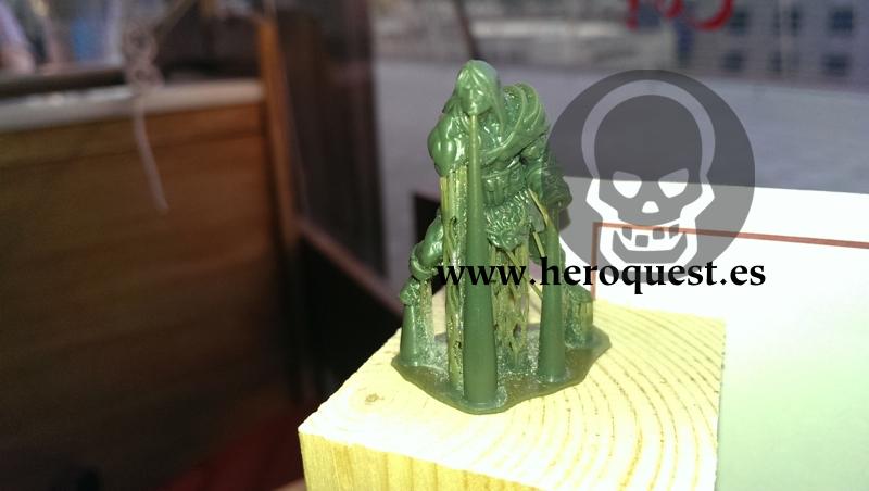 HQ25, Bárbaro, green desechado