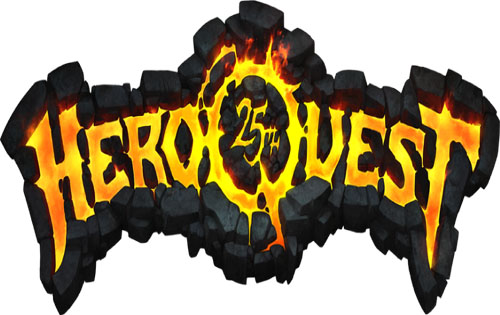 HeroQuest 25, logo slide