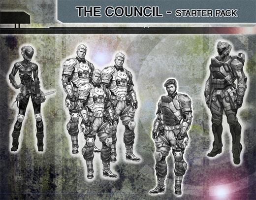 Last Saga; el concilio