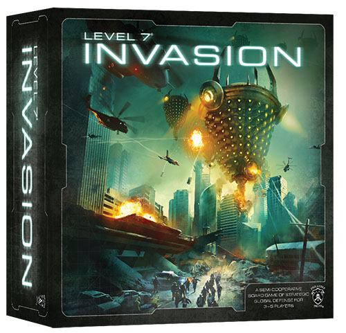 Caja de Level 7 Invasion