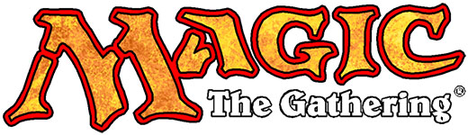 Logo de Magic the gatering marca de wizards of the coast