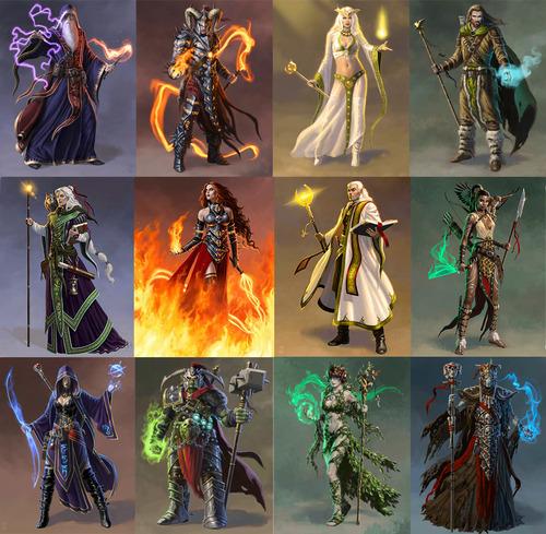 Magos de Mage wars