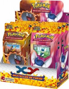 Pokémon XY, caja