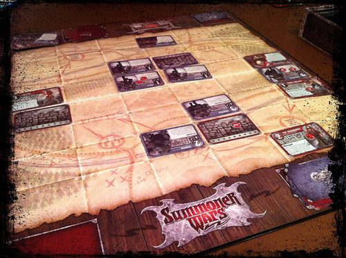 Partida de Summoner wars