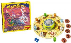 Tambuzi, juego