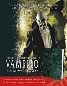 Vampiro, promo