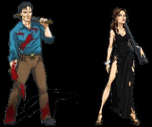 Zombicide, personajes