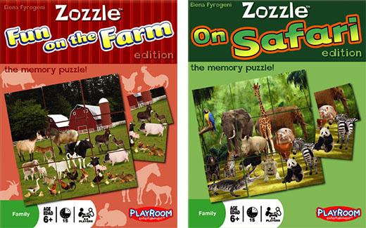 Zozzle, puzles y memoria de la mano de Playroom