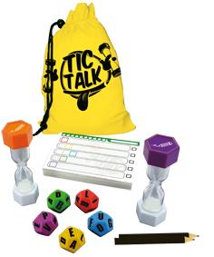 componentes de tic talk