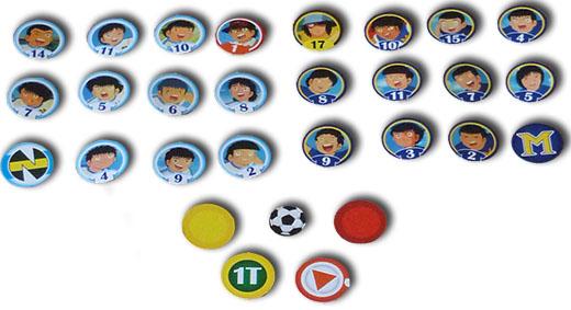 Equipos y marcadores de Campeones