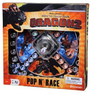 Como entrenar a tu dragón 2, caja Pop´N´Race