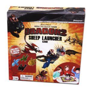 Como entrenar a tu dragón 2, caja Sheep Launcher