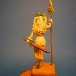 Escultura de Belit para el juego de Conan
