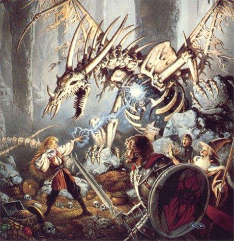 Ilustración de los reinos olvidados