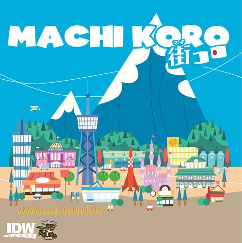 Portada de la edición inglesa de Machi Koro
