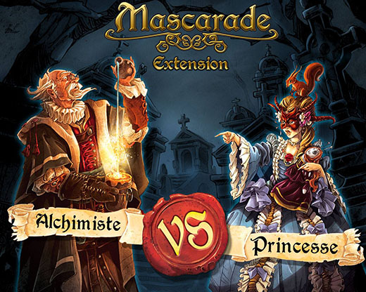 Mascarade extension alquimista vs princesa
