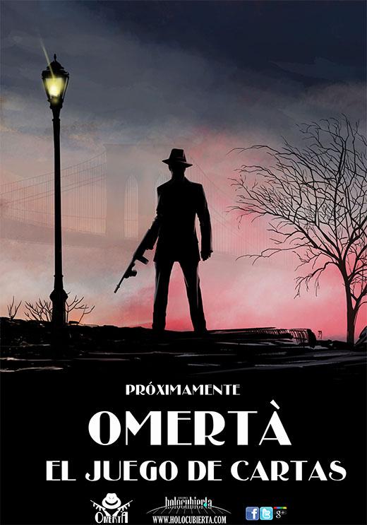 Imagen promocional de Omertá, el juego de cartas
