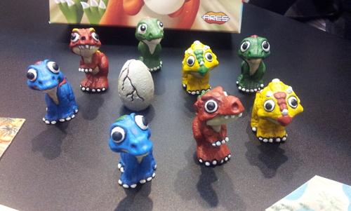 Miniaturas de Dinosaurios de Dino race